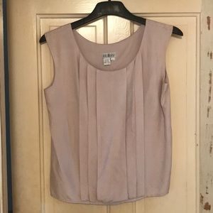 Intuitions Pure Silk Lavender Blouse